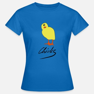 Ente Chick Chicks - Frauen T-Shirt