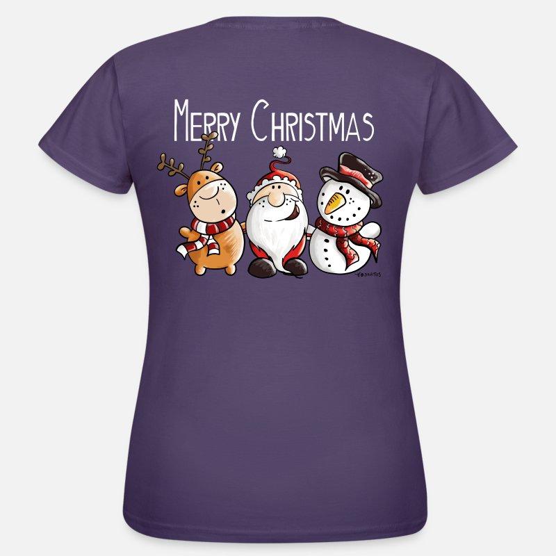 Merry Christmas Weihnachtsmann und Freunde von modartis | Spreadshirt