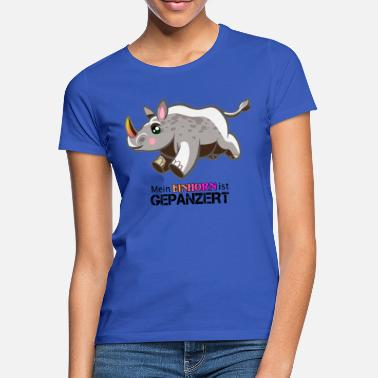Blindado Mi unicornio es blindado - Camiseta mujer d560359fdde