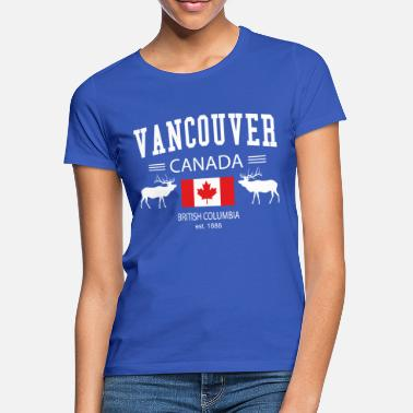 Vancouver Vancouver - Vrouwen T-shirt
