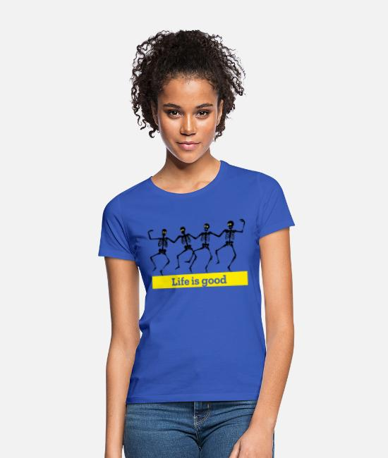 cool T-Shirts - Inspiration / Inspire and inspire - Women's T-Shirt royal blue