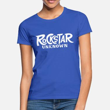 Rock star. White version - Women's T-Shirt