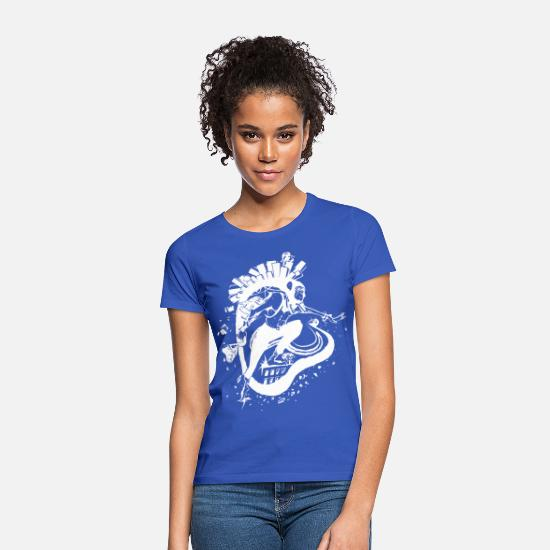 Gift Idea T-Shirts - Human development - Women's T-Shirt royal blue