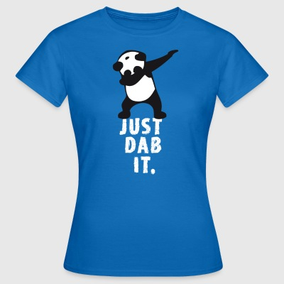 dab just dab it panda dabbing touchdown superbowl - Women's T-Shirt
