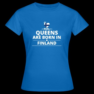 queens from gift i love FINLAND - Women's T-Shirt