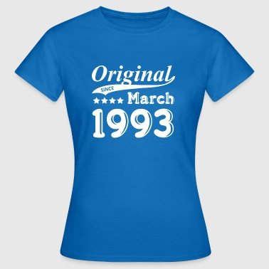Original Since March 1993 - Frauen T-Shirt