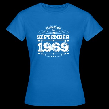 Established in September 1969 - Frauen T-Shirt