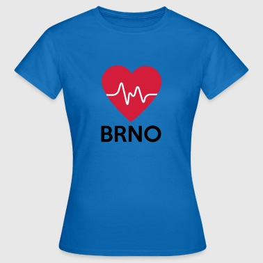 heart Brno - Women's T-Shirt