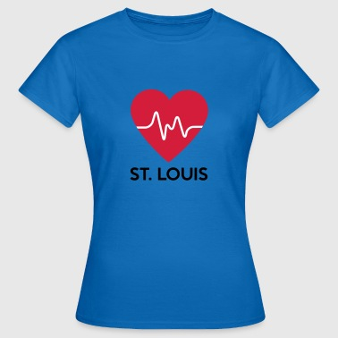 Heart St Louis - T-shirt dam