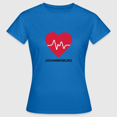 Heart Johannesburg - Women's T-Shirt