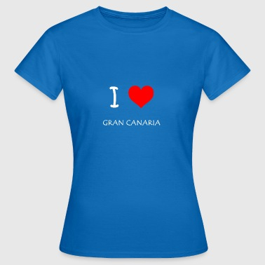 I Love Gran Canaria - Women's T-Shirt
