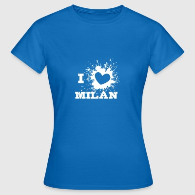 i love milan - Frauen T-Shirt