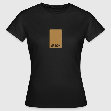 Cajon Beat-Box  Aprons - Women's T-Shirt