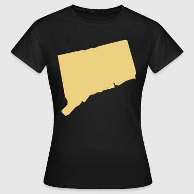 connecticut usa - Frauen T-Shirt