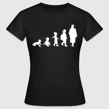 Graduation Girl Evolution - Frauen T-Shirt