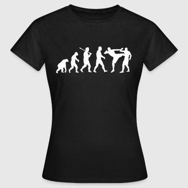 Evolution: Muay Thai/Kick Boxing - T-shirt Femme