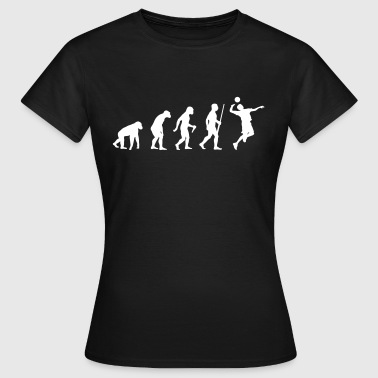 Volleyballer Evolution - T-shirt Femme