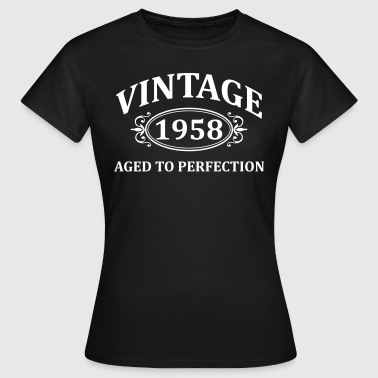 Vintage 1958 Aged to Perfection - Women's T-Shirt