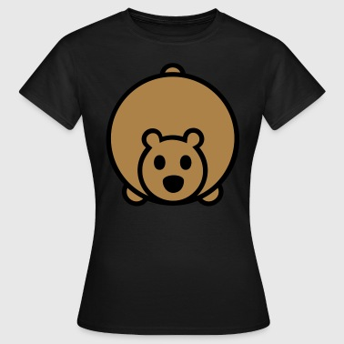 bear  Polar Bear Brown Bear - Women's T-Shirt