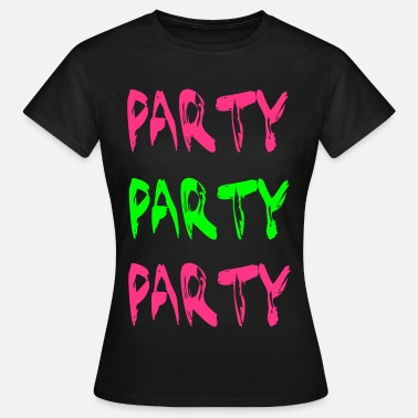Foute Party Party - Vrouwen T-shirt