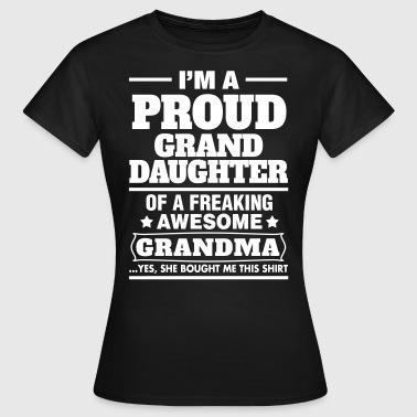 Shop Granddaughter T Shirts Online Spreadshirt