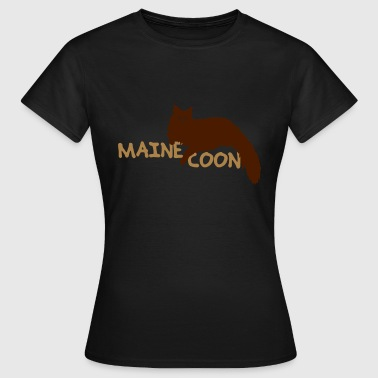 Maine coon - Frauen T-Shirt
