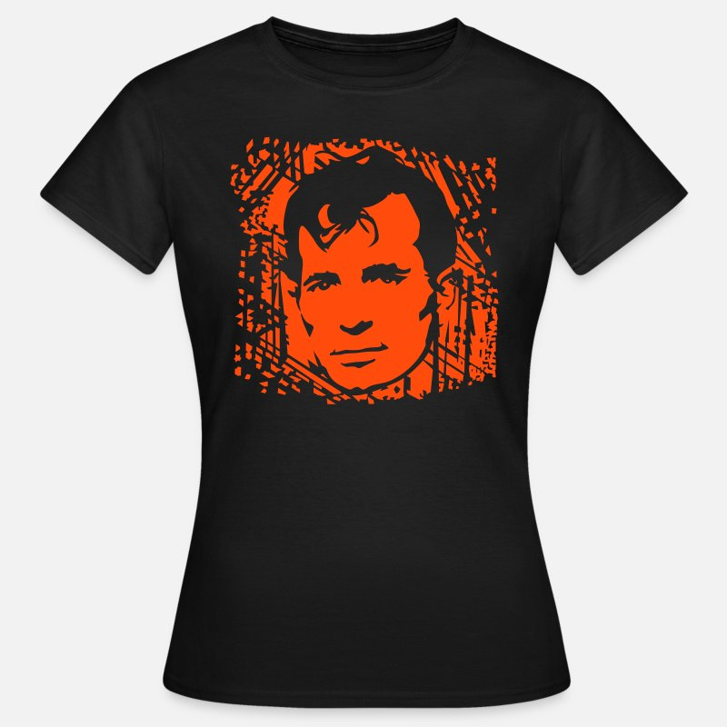Book T-Shirts - Jack Kerouac - Women's T-Shirt black