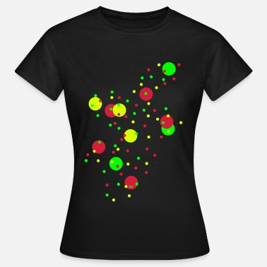 Seifenblasen Musik Bubbles Kunst Design Party Cool Seifenblasen Perle - Frauen T-Shirt