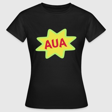 Comic Ausrufe, Ausruf, Cartoon, Aua - Camiseta mujer