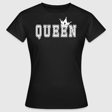 Valentine's Matching Couples Queen Jersey - Vrouwen T-shirt