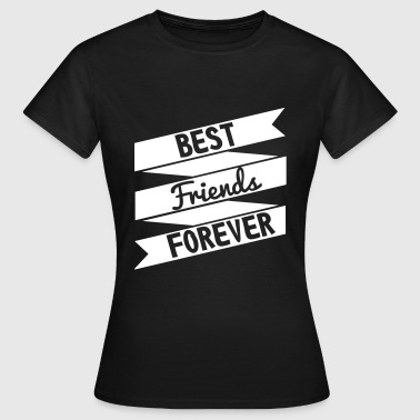 best friends - Dame-T-shirt