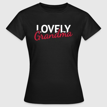 Lovely Grandma - Frauen T-Shirt