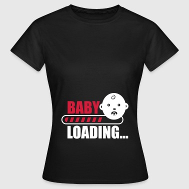 baby loading - funny pregnancy - Women's T-Shirt