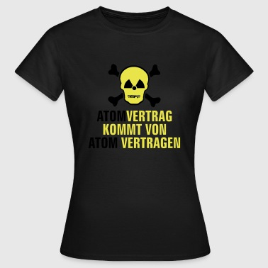 Atom Vertragen - Frauen T-Shirt