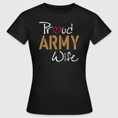 Army Wife - Dame-T-shirt