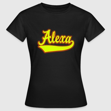 Alexa - The name as a sport swash - Women's T-Shirt