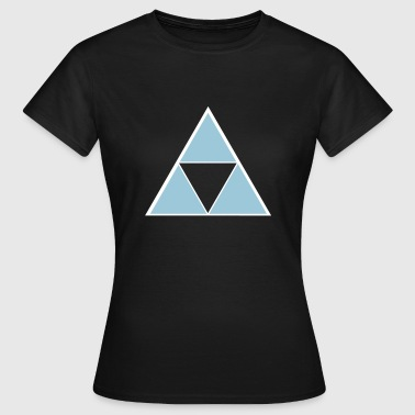 Hipster Triangle - T-shirt Femme