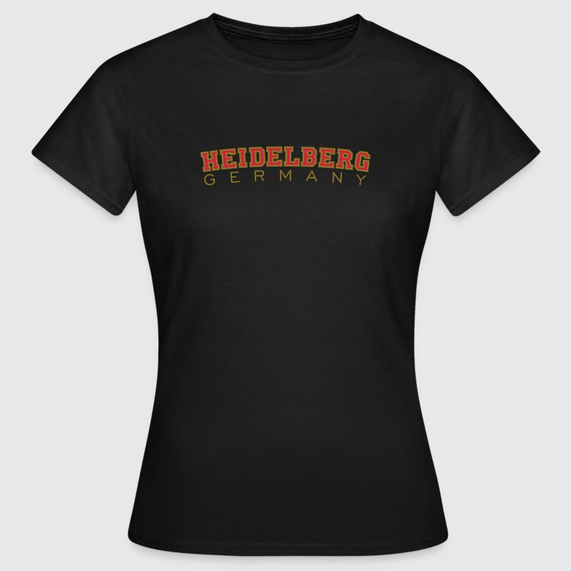 Heidelberg Germany Red/Gold - Women's T-Shirt