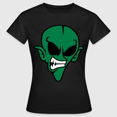 Aliens Angry - T-shirt Femme