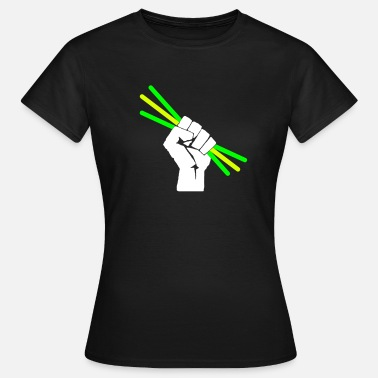 Rave Party Glowstick - Party - Rave - T-shirt Femme
