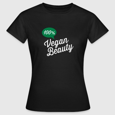 100% Vegan Beauty - T-shirt dam