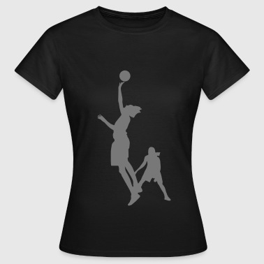 Women basketball de - Frauen T-Shirt