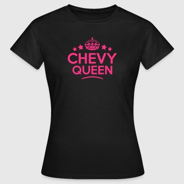 chevy queen keep calm style copy - Koszulka damska