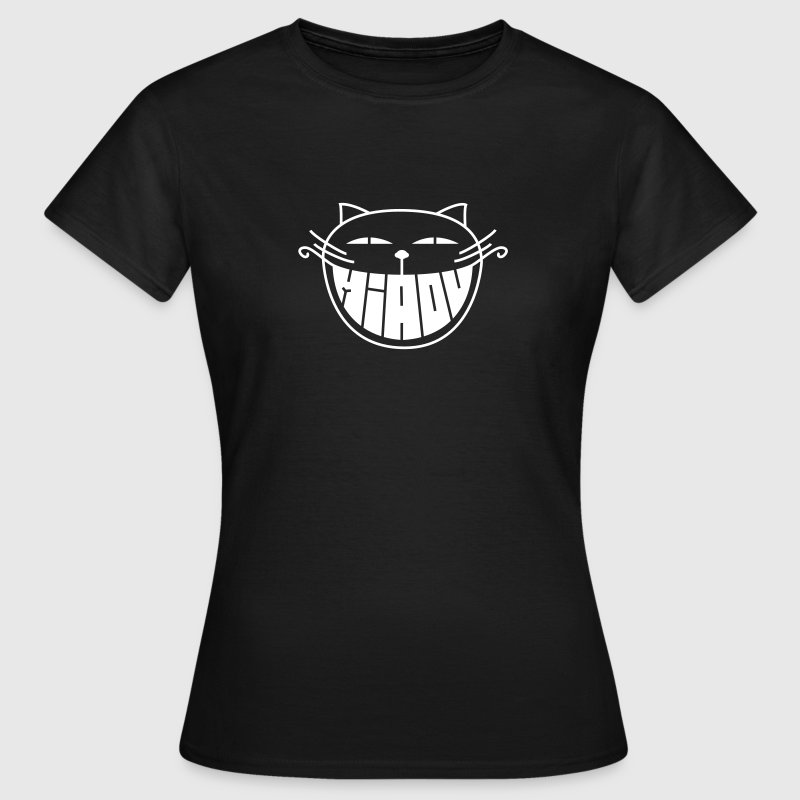 The smiling cat - T-shirt Femme