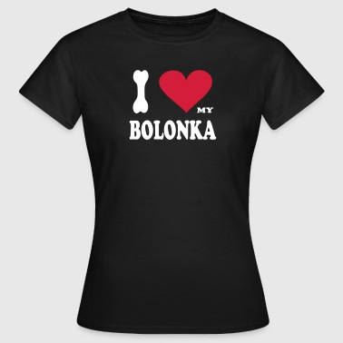 i_love_my_bolonka            original exit-shirt  - Frauen T-Shirt