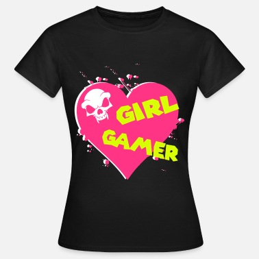Gamer Girl GIRL GAMER - Women's T-Shirt
