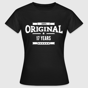 Original 17 Years - Frauen T-Shirt