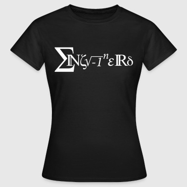 Mathe Enginerd - Frauen T-Shirt