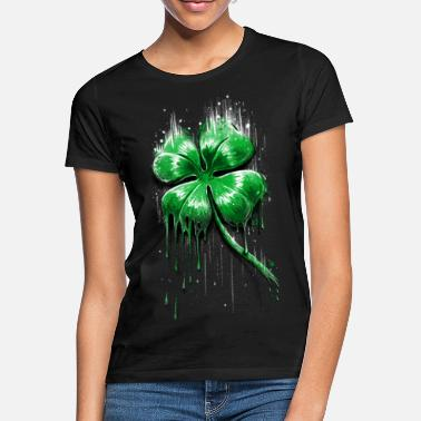 Day Four Leaf Clover - Women's T-Shirt