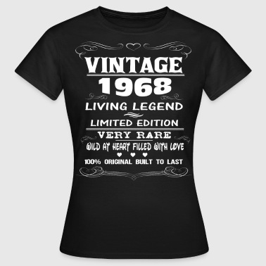 VINTAGE 1968-LIVING LEGEND - Women's T-Shirt